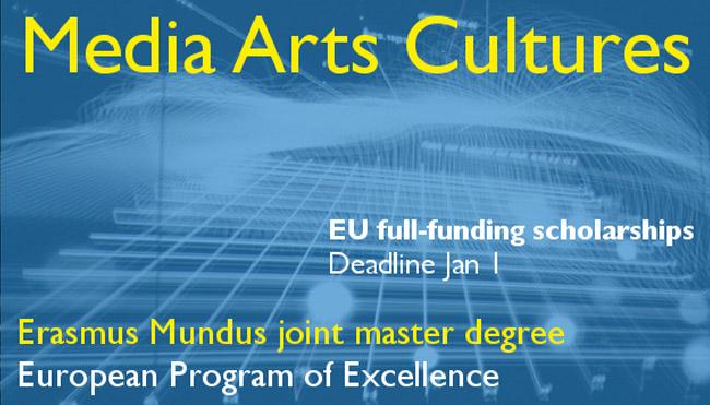 Erasmus Mundus Joint Masters Degrees Scholarships, 2019