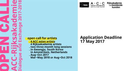 post_Open Call_ACC-Rijksakademie Dialogue and Exchange 2017-18-1