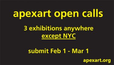 Open Call for Curatorial Proposals - Call For Curators