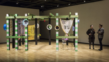 Garden Gossip, Walter Phillips Gallery, 2017, Tiziana La Melia and Maryse Larivière,  Guest curated by Peta Rake